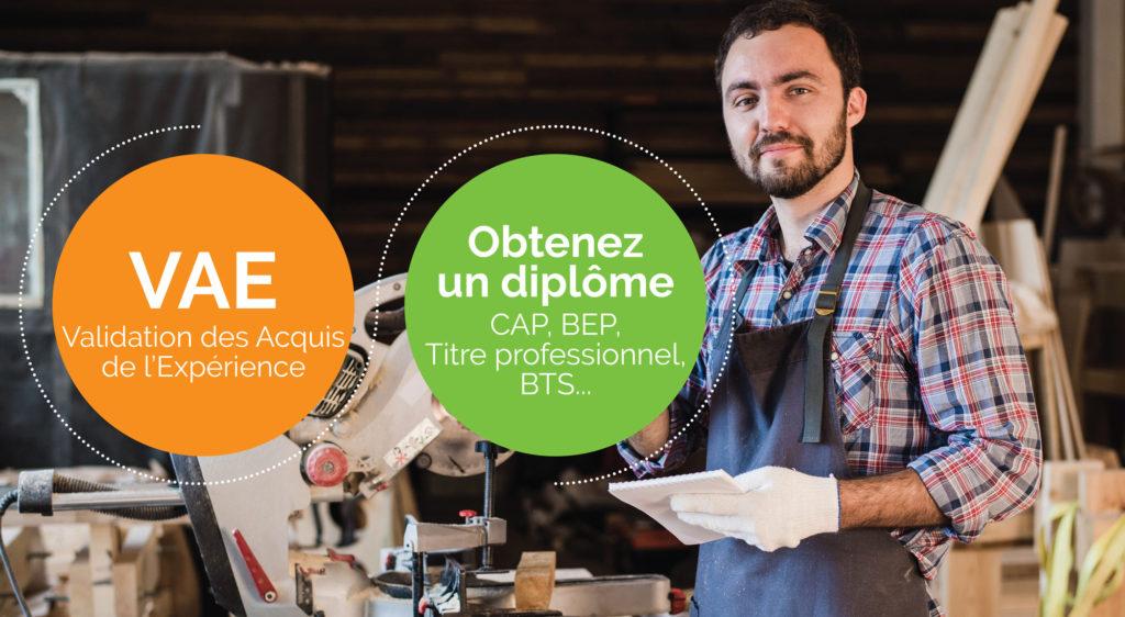 Atelier d'information dans l'Oise en novembre sur la VAE (Validation des Acquis de l'Expérience)