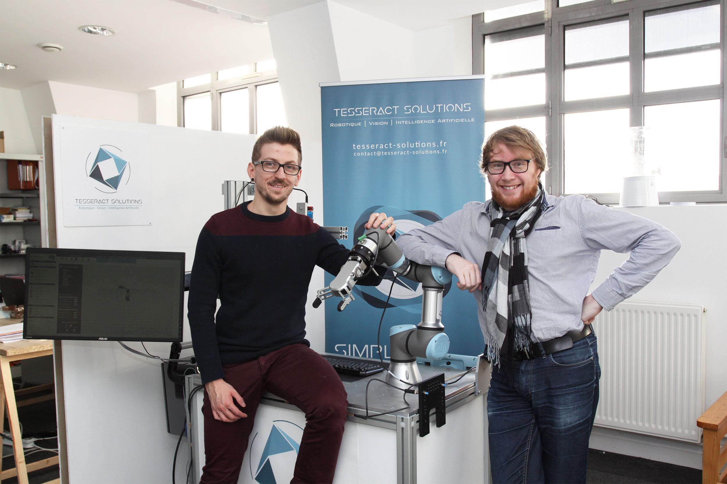 Lauréats concours Talents 2018 catégorie Services –Tesseract Solutions à Amiens