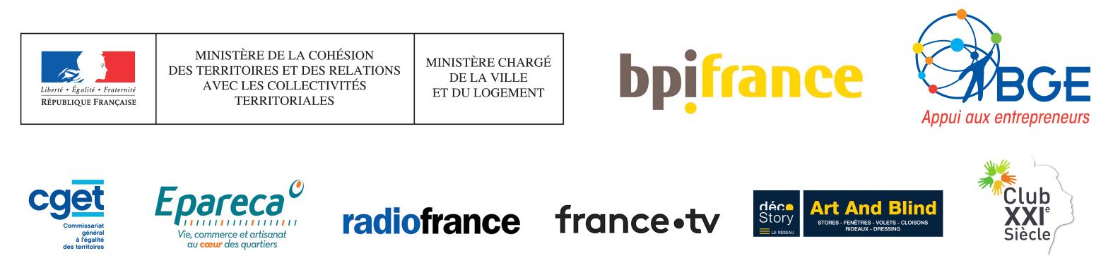 Logos partenairesTalents des cités